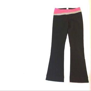 ivivva black pink pants girls size 8